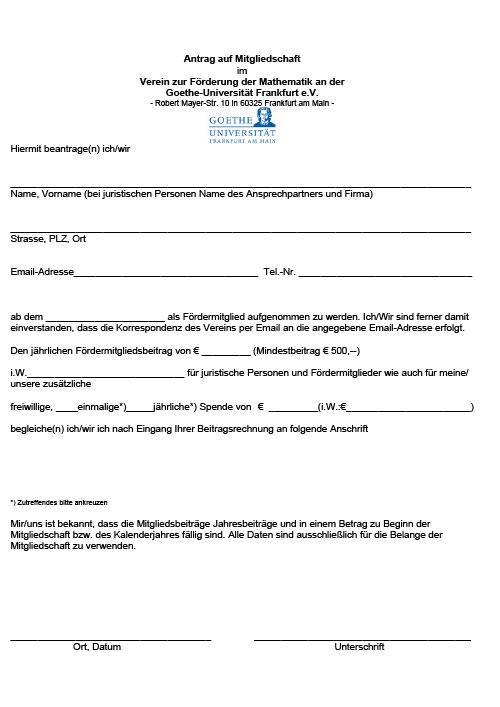 Fördermitglied--Antrag-auf-Mitgliedschaft-Förderverein